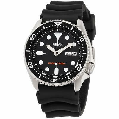 $ CDN333.96 • Buy Seiko Divers Automatic Movement Black Dial Men's Watch SKX007P9