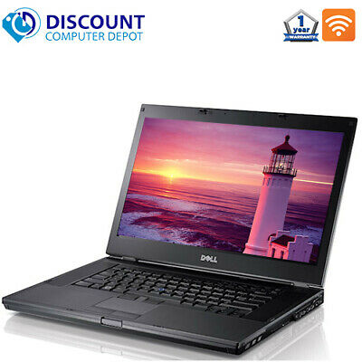 $259.95 • Buy Dell Laptop E6410 Computer Core I5 Windows 10 8GB 500GB HD DVD Wifi Window 10 PC