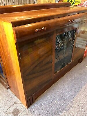 AU300 • Buy Original Australian Blackwood Art Decor Sideboard Display Case 1920