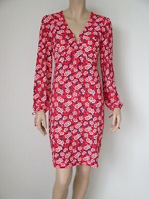 AU44.99 • Buy Leona By Leona Edmiston Ladies Fit & Flare Dress Size 10 Colour Red Floral Print