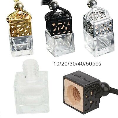 10/20 Car Fragrance Air Freshener Oil Diffuser Perfume Scent EMPTY BOTTLE UK • 7.99£