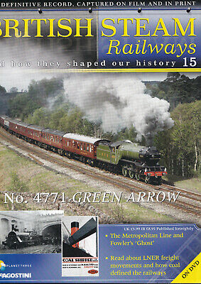 British Steam Railways - DVD + Magazine - N4472 Green Arrow - No 15 • 3.49£