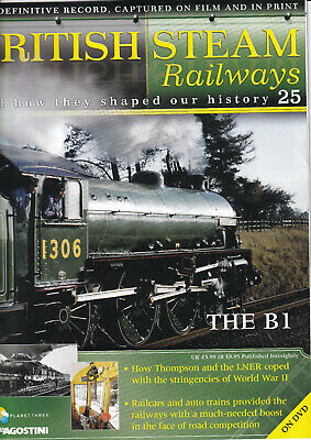 British Steam Railways - DVD + Magazine - The B1 - No 25 • 3.49£