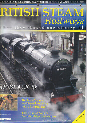 British Steam Railways - DVD + Magazine - The Black 5s - No 11 • 3.49£