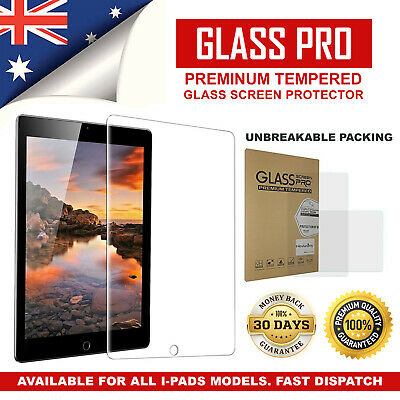 AU9.49 • Buy Tempered Glass Screen Protector For Apple IPad Air 1 2 Mini 5th 6th Gen Pro 12.9