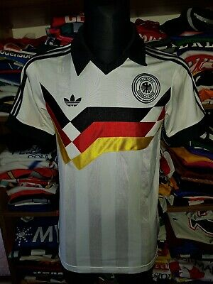 GERMANY RETRO 1990 SHIRT SIZE S DEUTSCHLAND DFB SHIRT JERSEY TRIKOT (m996) • 24.99£