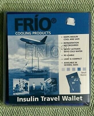 Frio Small Insulin Gel Cooling Travel Wallet Diabetes Pouch & Cover Unused • 14.99£