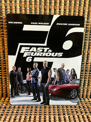 $ CDN6.53 • Buy Fast & Furious 6: Steelbook Extended Edition (2-Disc Blu-ray/DVD, 2013)