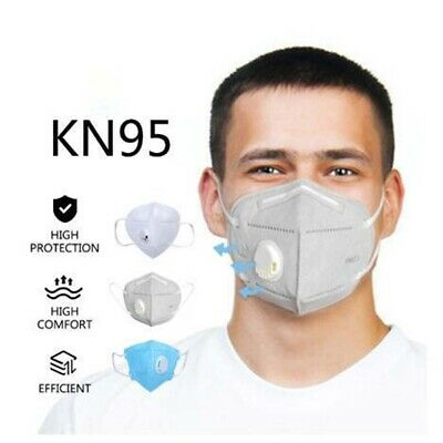 AU74.95 • Buy 10x KN95 N95 P2 Face Mask Particulate Respirator Disposable Mask Anti Dust 10Pcs