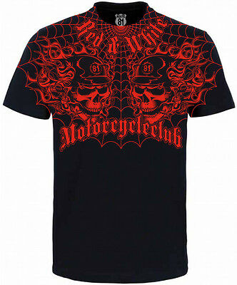 £28.44 • Buy Hells Angels Support 81 Big Red Machine World T-Shirt Motorcycle Club