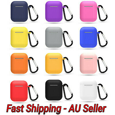 AU4.75 • Buy Silicone Case For Apple Air Pods Generation 1/2 Protective Case Airpods