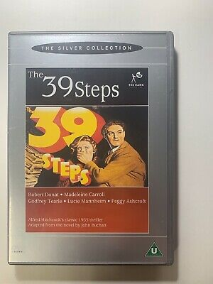 £2 • Buy Pre-Owned DVD The 39 Steps Robert Donat
