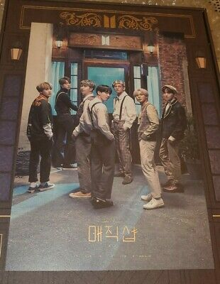 $13.99 • Buy BTS 2019 New 5TH MUSTER   MAGIC SHOP   DVD Official Limited Postcard( Only )