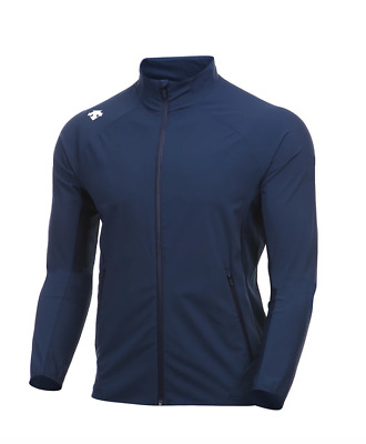 $89.99 • Buy Descente Men's Athletic Tricot Fleece Jacket XL Navy Style #S9223CFT48 New