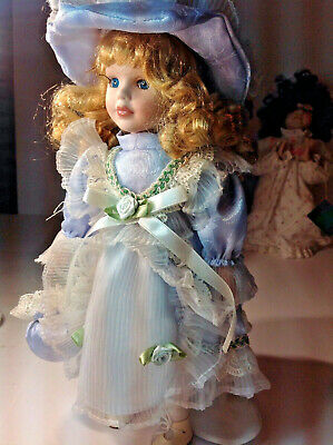 $ CDN27.05 • Buy Victorian LACED Girl Porcelain Doll 13 IN  Collector's Choice By Dandee VINTAGE