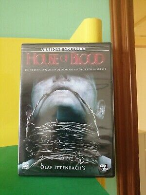 £4.29 • Buy DVD HOUSE OF BLOOD OLAF ITTENBACH'S Italiano Inglese