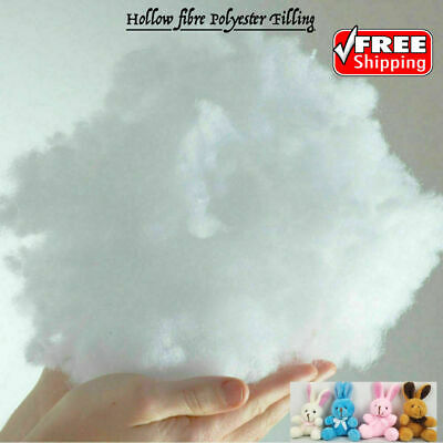 £5.85 • Buy Hollow Fibre Polyester Filling Soft Toy Teddy Pillow Cushion Stuffing BS5852