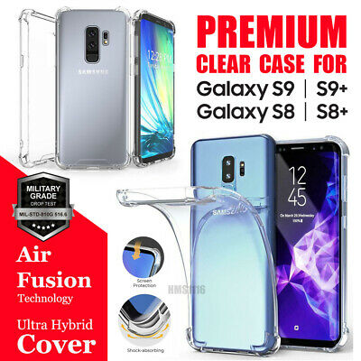 AU4.99 • Buy For Samsung Galaxy S8 S9 Plus Clear Case Shockproof Heavy Duty Cover