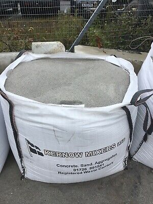 £40 • Buy Fine Building SAND In A Bulk (Dumpy Bag) NATIONWIDE Delivery From Cornwall