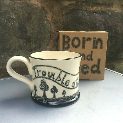 'Trouble At Mill' Born And Bred Yorkshire Mug New  • 17.99£