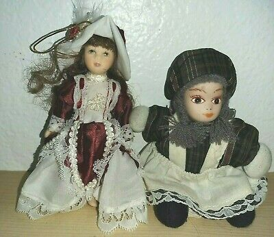 $ CDN17.72 • Buy Vintage Porcelain Doll 5  Lot Of 2