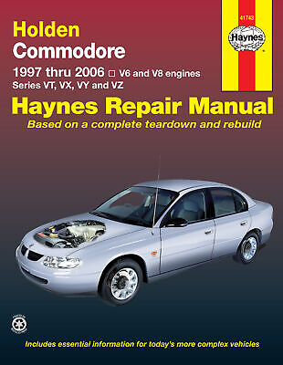 AU48 • Buy Holden Commodore VT VX VY VZ Repair Manual 1997-2006 6 Cyl & V8