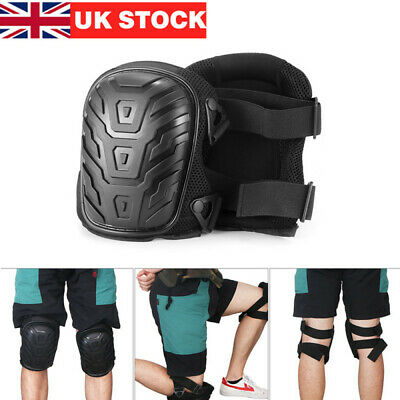 2X Heavy Duty Knee Pads Pro Soft Gel Filled Kneepads Protectors Safety Work Wear • 9.99£