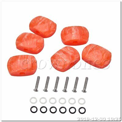$ CDN11.01 • Buy Acrylic Tuning Key Buttons Pegs For Guitar Tuner Machine Replacment Head Stlye 5