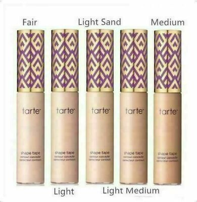 $12.99 • Buy Tarte Shape Tape Double Duty Beauty Contour Concealer 10ml (Choose Any 5 Colors)