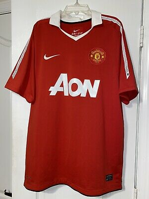 $39.99 • Buy Nike Manchester United Home Soccer Jersey 2011 Rooney Nani