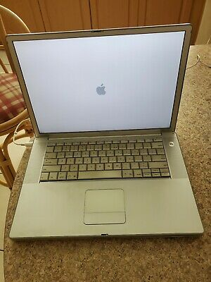 Apple Powerbook G4 15 Laptop A1046 2003-- FOR PARTS OR REPAIR  • 50.20£