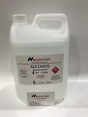 AU85.09 • Buy Rubbing Isopropyl Alcohol 70% Made In Australia 250ml To 5 Litter