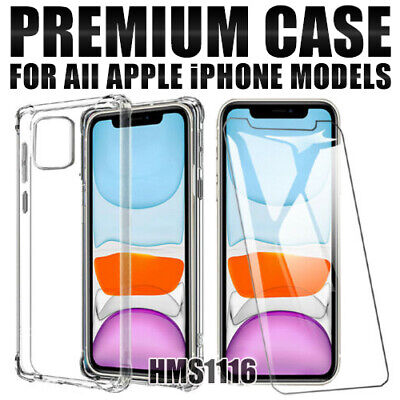 AU8.40 • Buy IPhone 11 11 Pro Max XS X XR 7 8 6 Plus Case Shockproof Heavy Duty Clear Cover