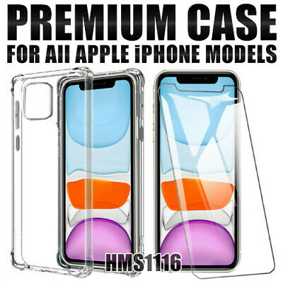 AU8.40 • Buy IPhone 11 Pro Max XS X XR 7 8 6 Plus Case Shockproof Heavy Duty Clear Cover