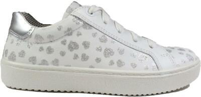 £24 • Buy Superfit 09488-11 Multi Coloured/White Leather Girls Zip/Lace Up Casual Trainer