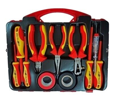 ELECTRICIANS TOOL KIT 11pc INSULATED ELECTRICAL TOOL KIT New  • 19.99£