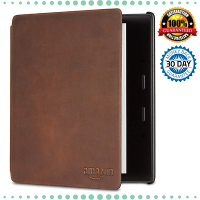 AU131.88 • Buy Case Leather Cover Premium Kindle Oasis Thin Lightweight Magnetic Attachment