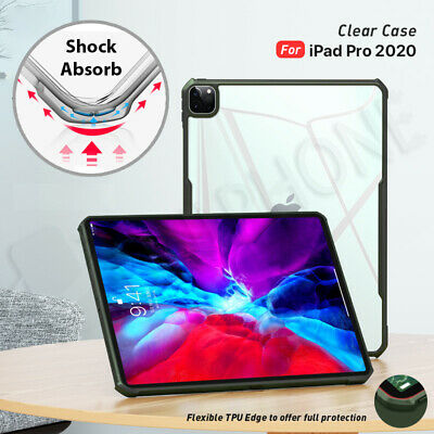 AU18.88 • Buy 【Shockproof】For Apple IPad Pro 11  12.9  2020 Clear Case Heavy Duty Cover