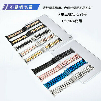$ CDN25.52 • Buy 304 Stainless Steel 38mm/42mm IWatch Watch Strap Band For Apple Watch 1/2/3/4