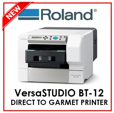 AU6595 • Buy ROLAND DG - DIRECT TO GARMET PRINTER - VersaSTUDIO BT12 - PROTECH CNC