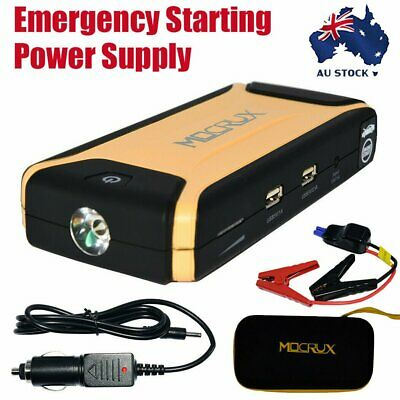 AU77.99 • Buy 12V 12000mAh Vehicle Jump Starter 200A Car Battery Charger Booster Power Bank AU