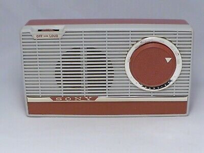 $63.99 • Buy 1960 Sony TR-609 AM Radio, Working Strong, Original