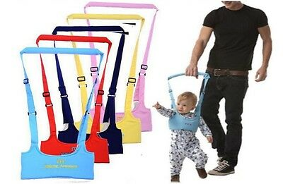 Baby Toddler Walking Assistant Learning Walk Safety Reins Harness Walker Wings • 6.45£