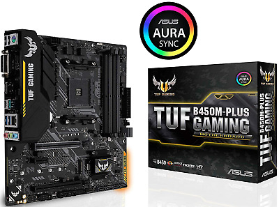 AU180 • Buy ASUS TUF B450M PLUS GAMING AMD Socket AM4 MATX Motherboard RGB M.2 HDMI Type C