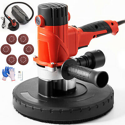 1200W Hand Held Drywall Sander 225mm 6 Variable Speed Dust Extracting Electric • 63.98£