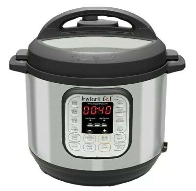 $99.99 • Buy Instant Pot DUO60 6 Qt 7-in-1 Multi-Use Programmable Pressure Cooker, 6 Quart