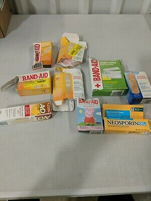 £23.23 • Buy Mixed Lot - READ - BAND-AIDs + NEOSPORIN +  First Aid +Hurt Free & More