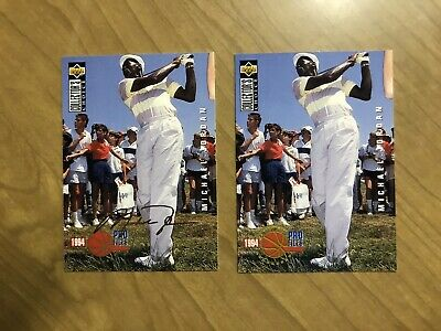 $5.99 • Buy 1994-95 Upper Deck CC Michael Jordan Silver Signature Golf Set  #204 HOF