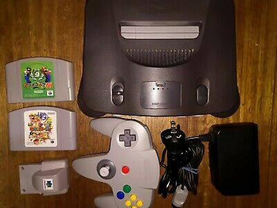AU210 • Buy Nintendo 64 N64 RGB SCART Enabled THS7316 Controller Rumble Pak GAMES CABLES