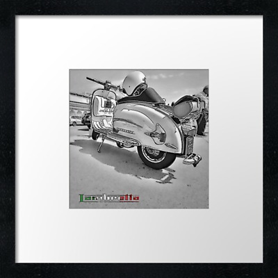 Lambretta Scooter Print Or Canvas. Example Shown 10  Framed Print, ONLY £21.50  • 34.50£